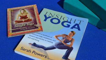Insight yoga by Sarah Powers, book and DVD review