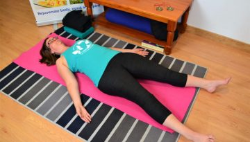 Ten-minute home Yin yoga practice