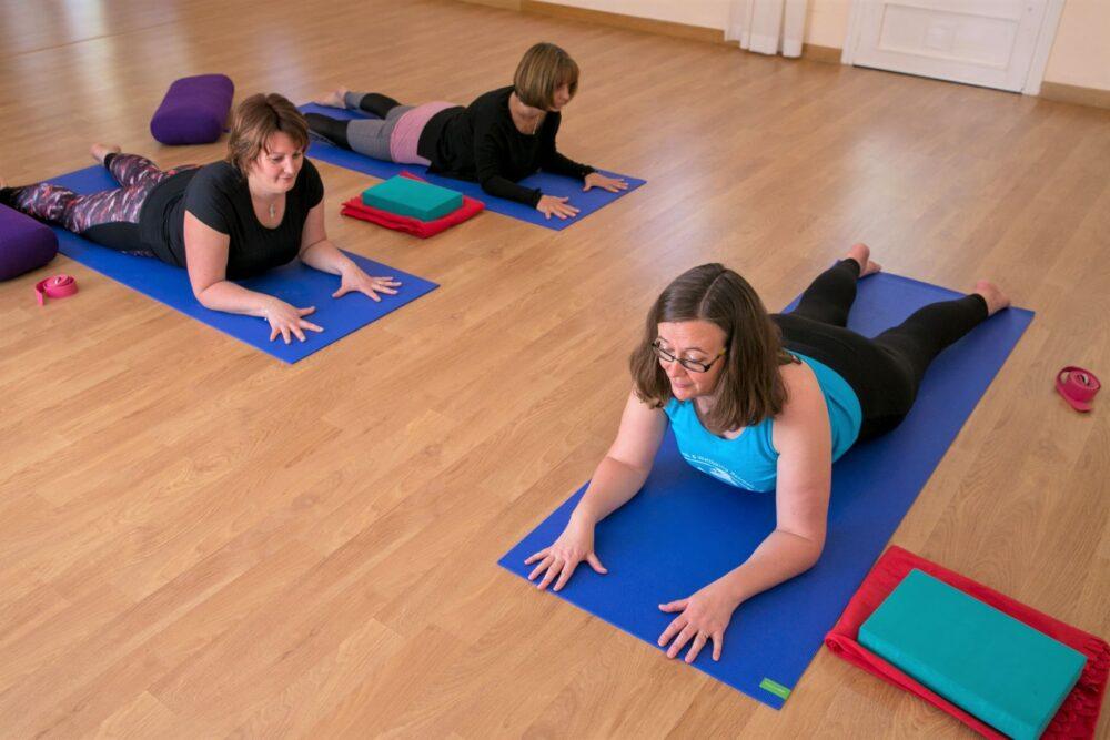 Activities yoga retreat yin yoga restorative yoga at La Crisalida