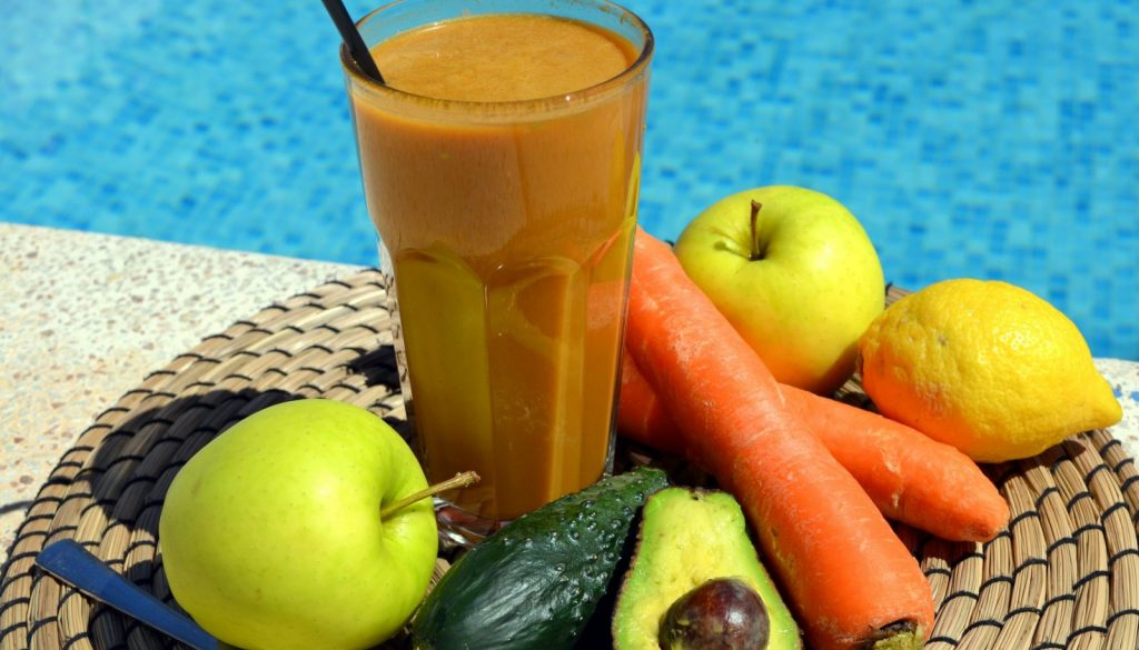 Antioxidant juice recipe Juicy Morning