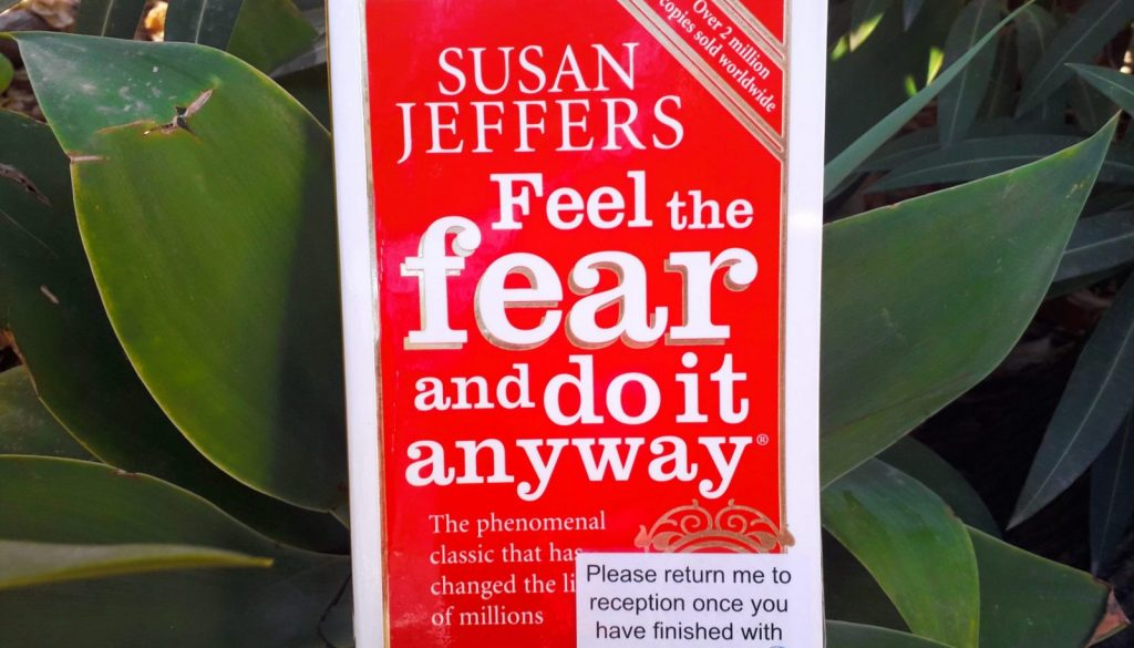 """Book review - """"Feel the fear and do it anyway"""" by Susan Jeffers"""