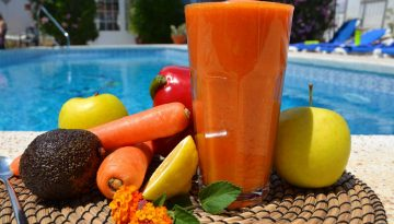 Breathe: red pepper and carrot juice recipe