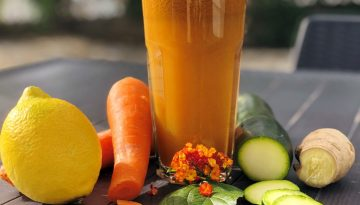 Carrot and ginger juice recipe