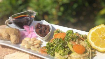 Eat raw - peanut-free Thai peanut sauce vegetable recipe