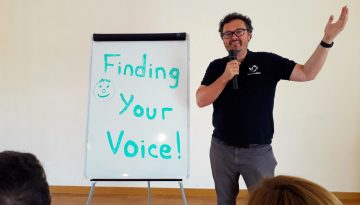 Finding your voice - speak up and express yourself