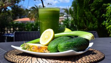 Fresh as a cucumber - Cucumber Fresh juice recipe