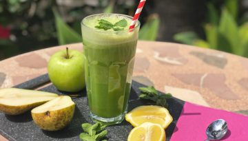 Freshen up with our pear and mint juice, S-Pear-Mint