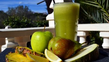 Fruit delight juice recipe for immune system boost
