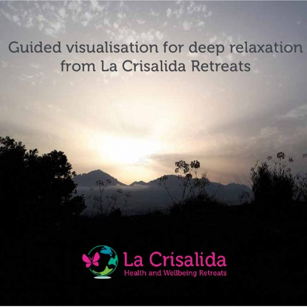 Deep relaxation guided visualisation by Lisa Brant: 25 minutes audio