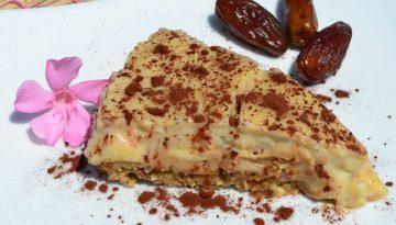 Healthy banoffee pie recipe (vegan, gluten-free and nut- free)