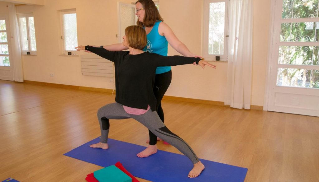 How you can develop a healthy relationship with yourself through yoga