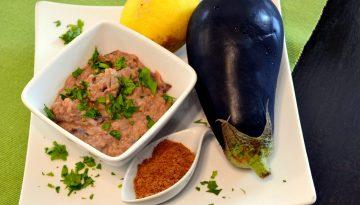 Indian baingan bharta dip recipe