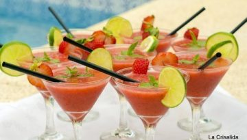 Juice - Festive strawberry daiquiri