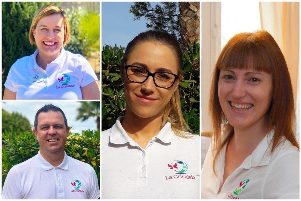 Meet the team - Nicola, Jamie, Jodi, Karly and Naomi