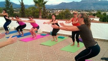 Mindful Hatha Yoga at La Crisalida yoga retreat Spain