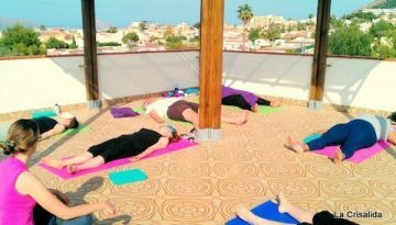Mindful hatha yoga - body scan to relax, centre and ground