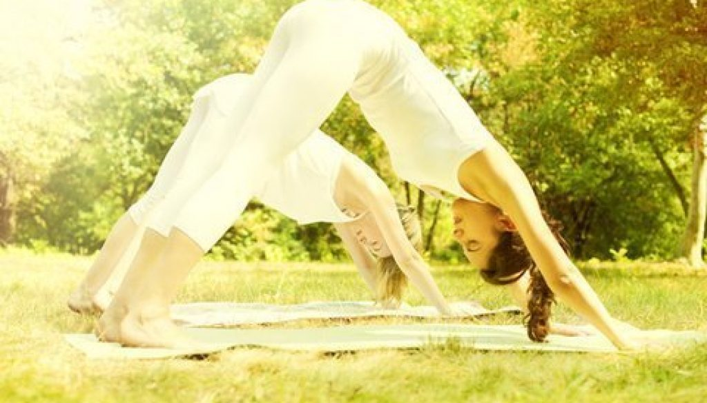 Pose of the month - Downward Dog