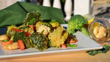 Recipe - Broccoli, tofu and cashew nut stir fry