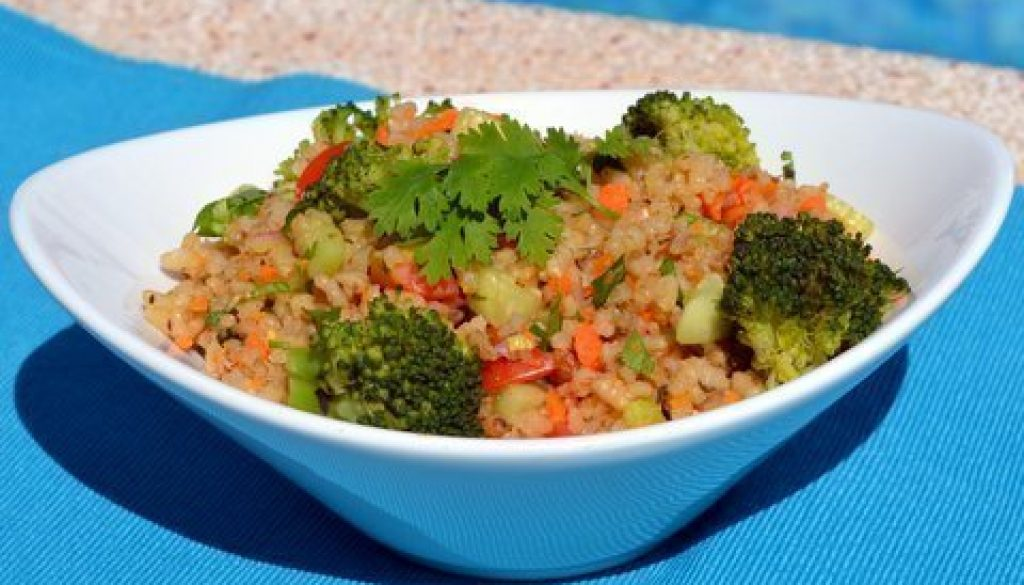 Recipe Hormone balancing brown rice salad