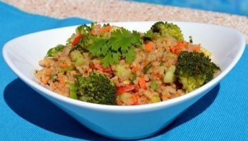 Recipe Hormone balancing brown rice salad