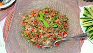 Recipe - Lebanese Lentil Salad
