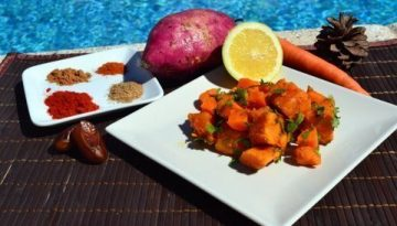 Recipe Moroccan Sweet Potato Salad