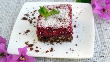 Recipe: Raw beetroot cake