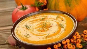 Recipe - Roast pumpkin soup