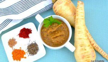 Recipe - Spicy roast parsnip soup