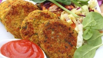 Recipe - Veggie bean burgers