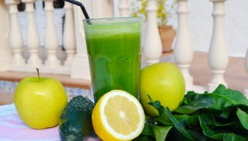 Strong Iron spinach juice recipe