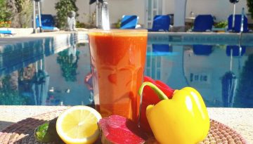 Sunburst red pepper juice recipe