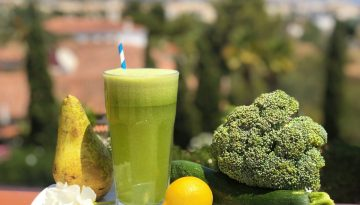 Sweet Digest - pear and courgette juice recipe