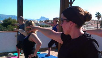 Taking yoga off your mat La Crisalida yoga retreat Spain