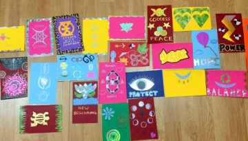 Time to play - get creative with inspiration flags