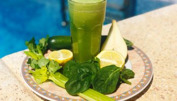 Try our Strength Builder spinach juice recipe!