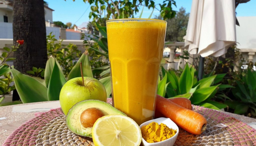 Try our Turmeric Twist carrot and turmeric juice recipe