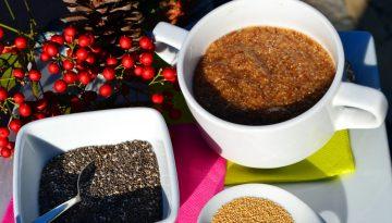 Wholesome nutritious amaranth porridge