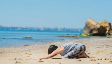 Yoga asanas for relaxation and headache relief