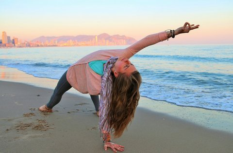Yoga pose of the month - Wild Thing
