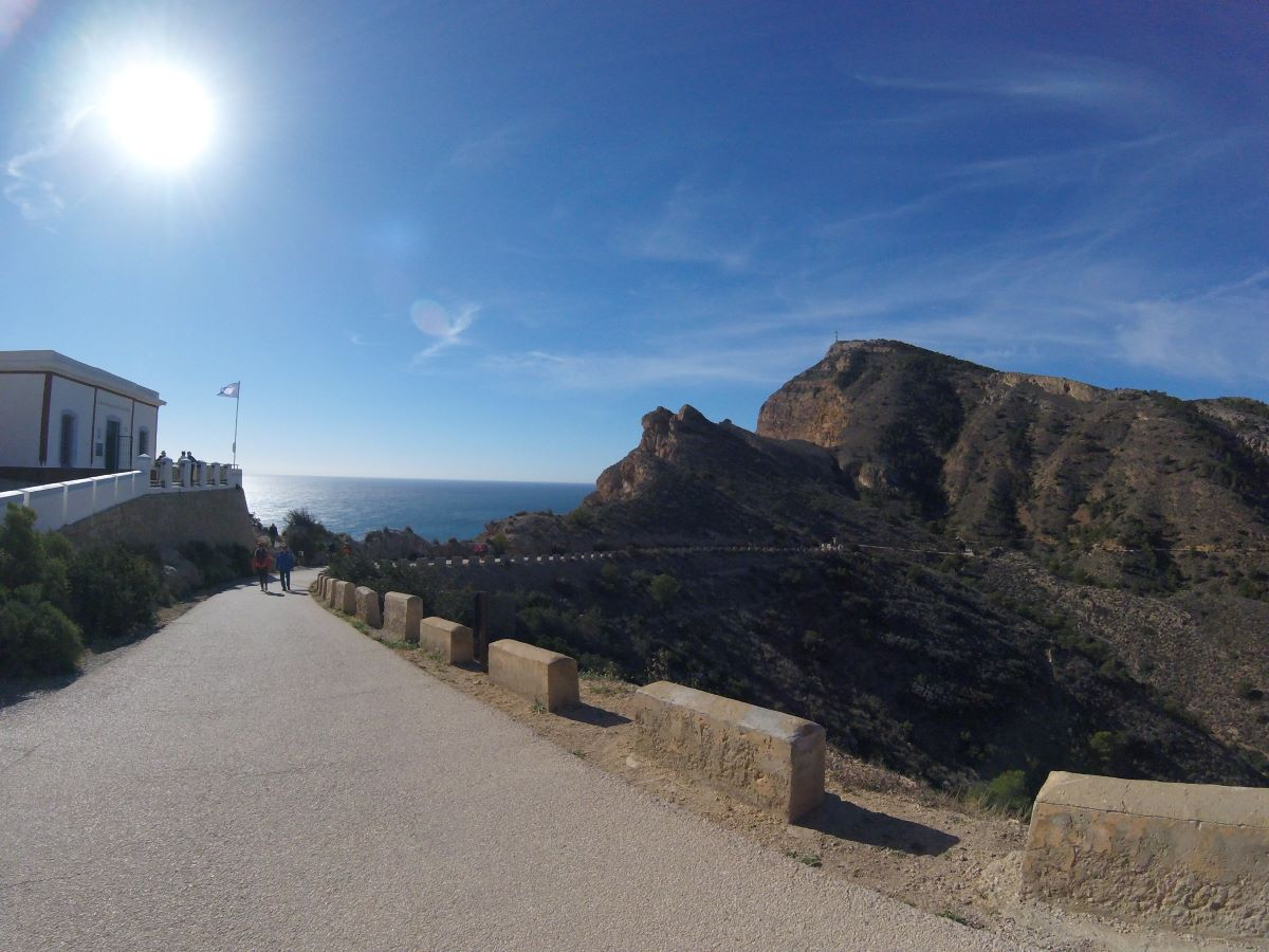 Activities walks lighthouse walk Sieera Helada Costa Blanca Spain