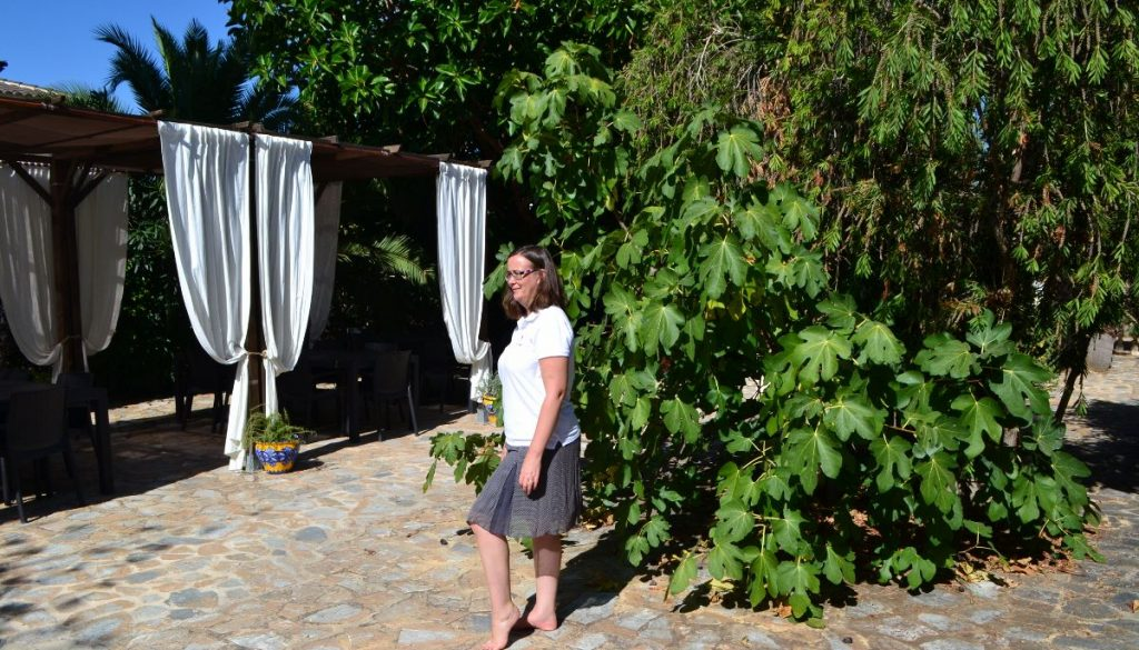 Walking meditation at La Crisalida Retreats, health and wellbeing retreat, Spain