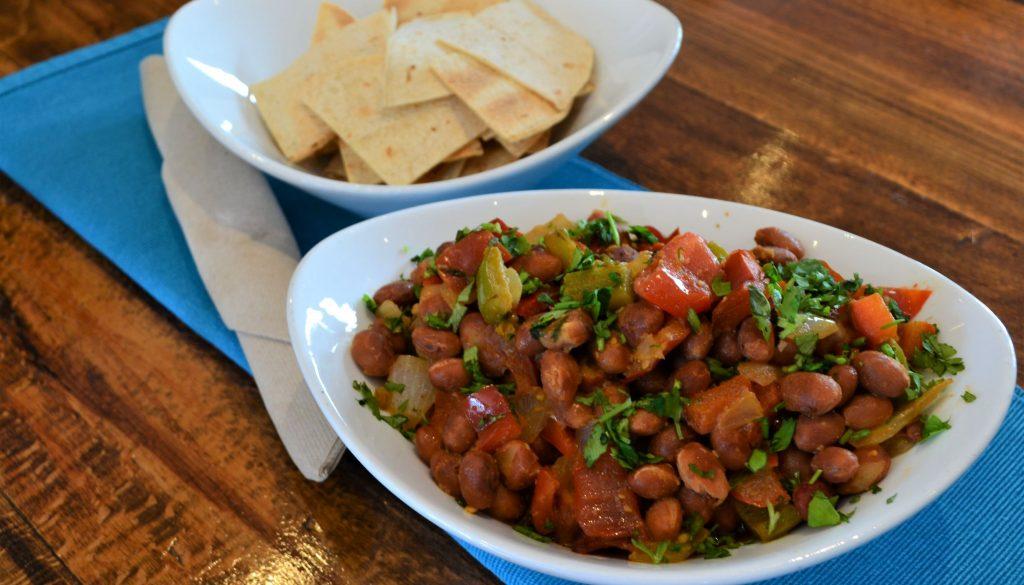 vegan taco bean salad recipe with homemade nachos plantbased health retreat