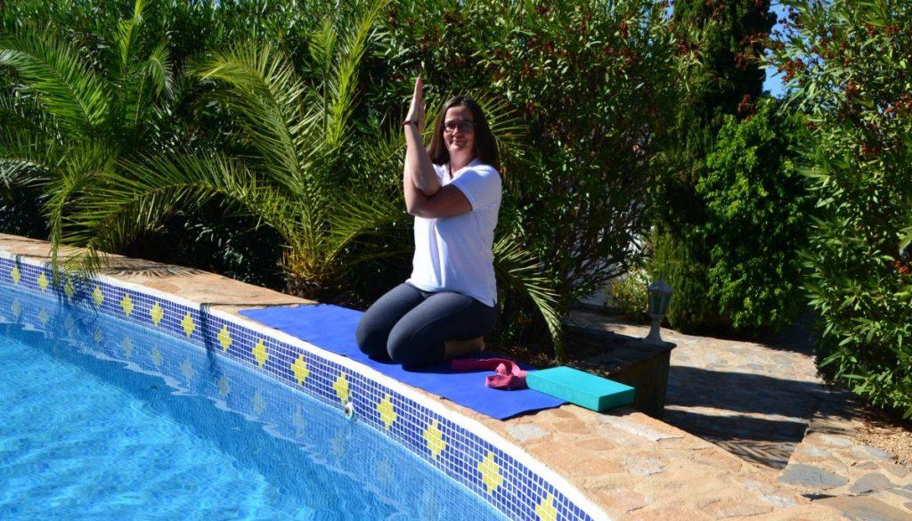 yoga release shoulder tension main image