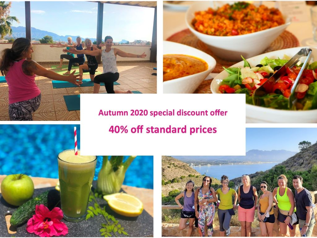 Autumn 40% discount special offer from La Crisalida Retreats