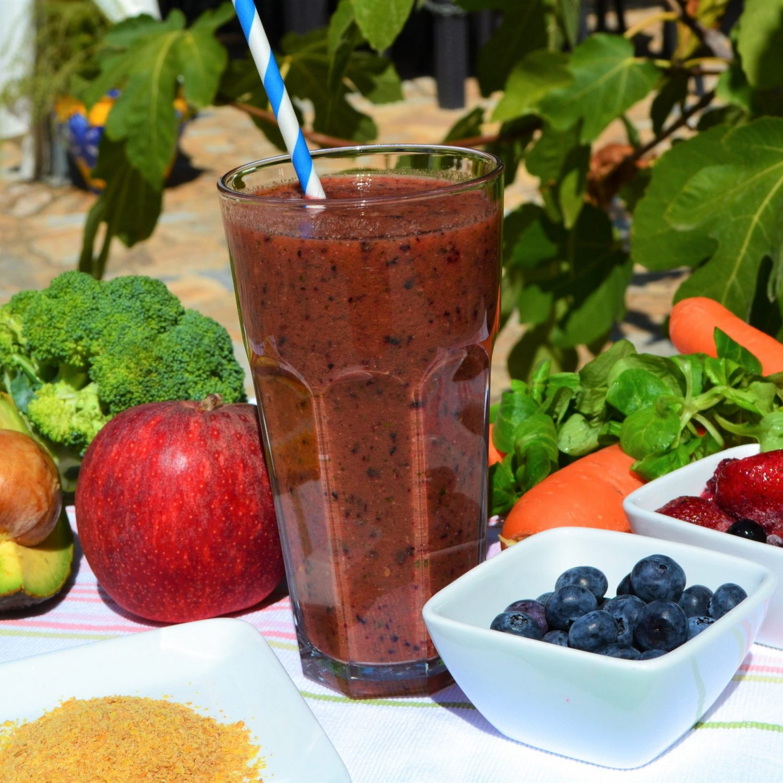 Menopause support juice recipe juicing retreat Spain
