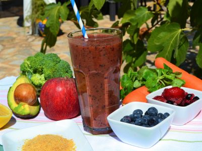 Menopause support juice recipe juicing retreat Spain