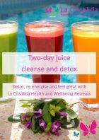 Two day juice cleanse and detox free ebook juicing retreat Spain