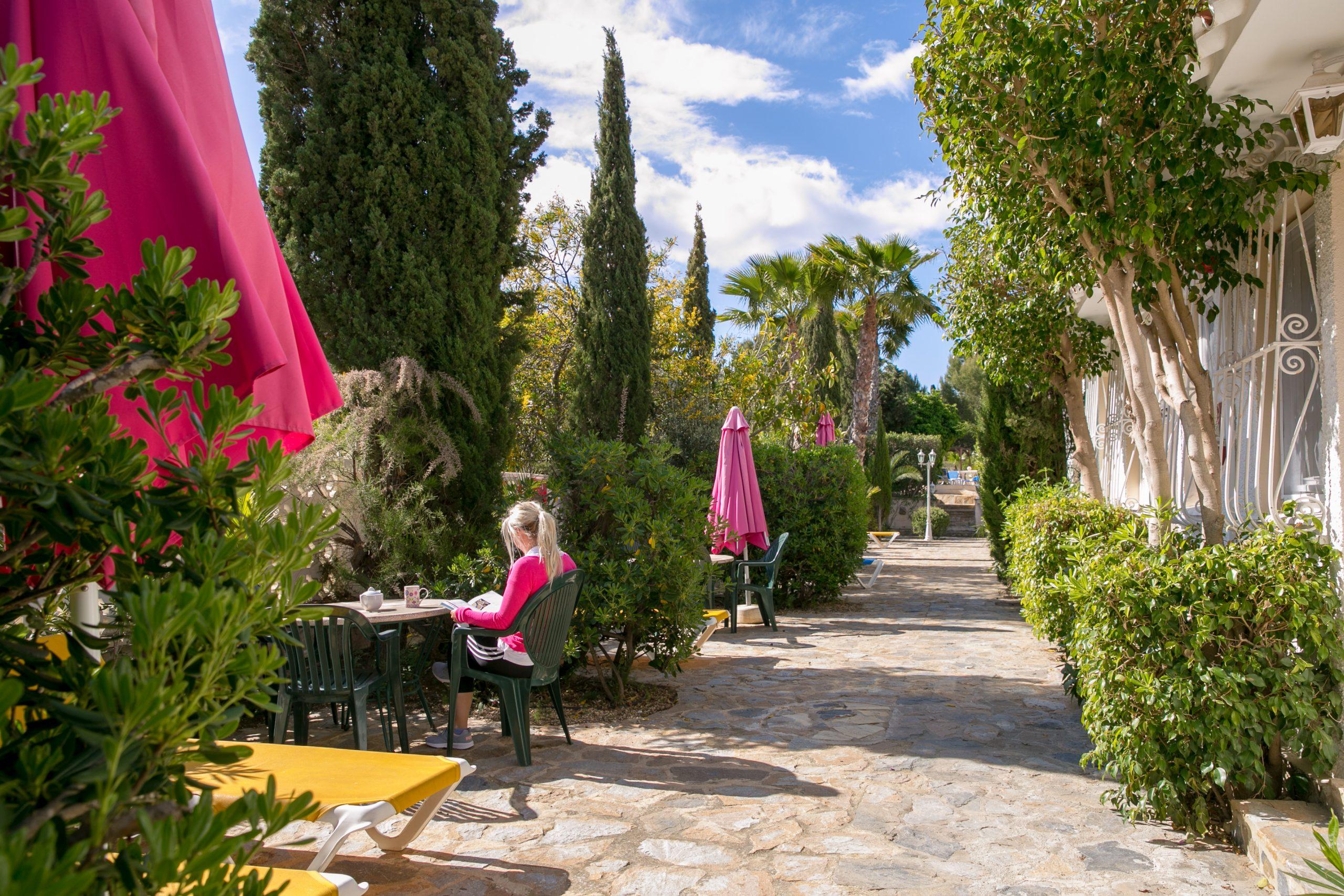 Facilities mature Spanish gardens to relax retreat