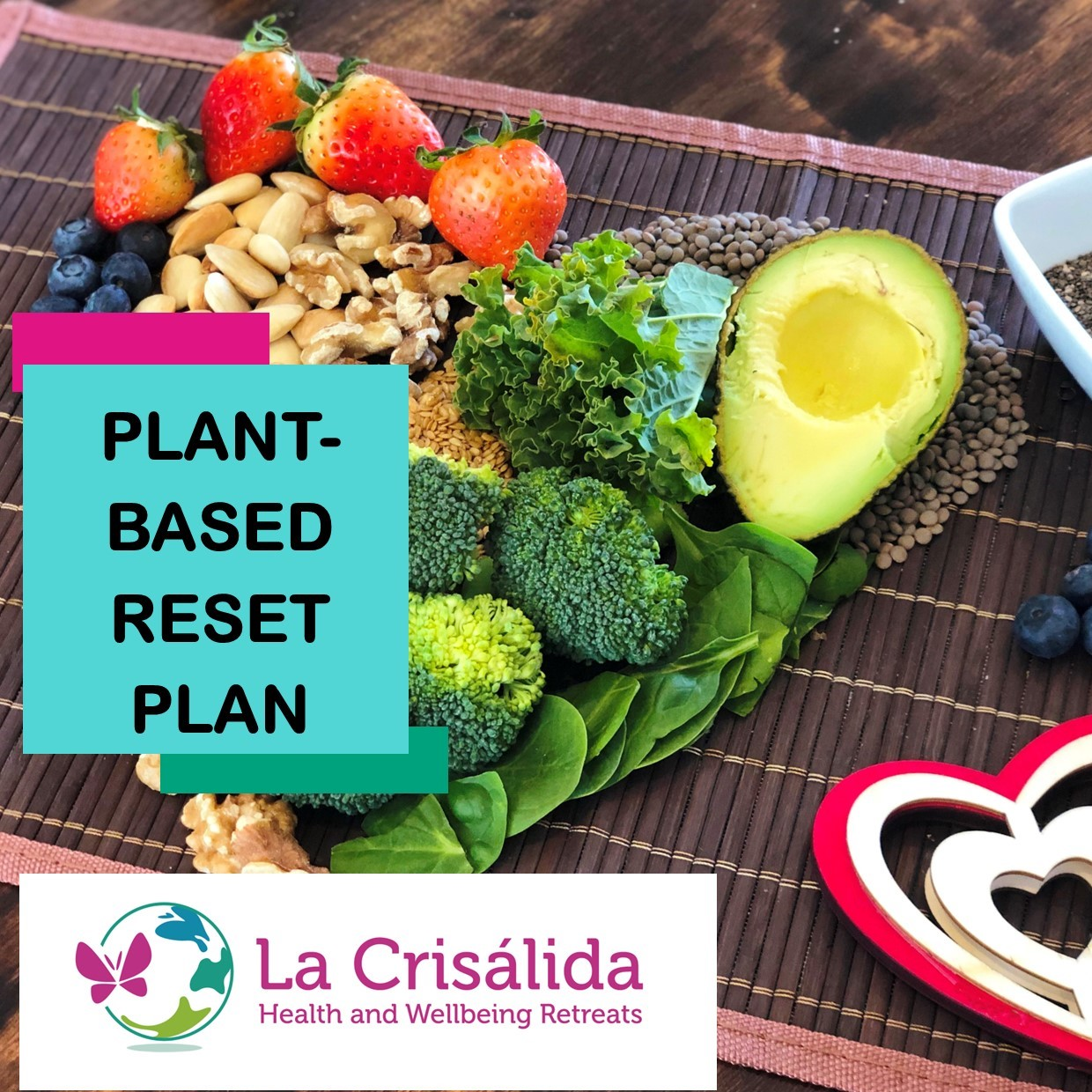 Plant-based Reset Plan La Crisalida Retreats health and wellbeing detox plan
